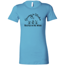 grow wisdom Bella + Canvas Ladies' Favorite T-Shirt