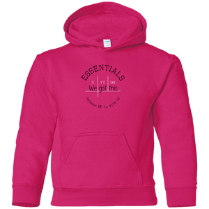 We got this essentials Gildan Youth Hoodie