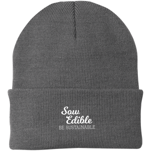 se be sustainable Knit Cap