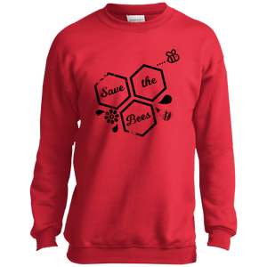 save bees P+C Youth Crewneck