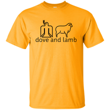 dove and lamb Gildan Youth T-Shirt
