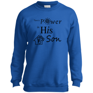 power SON P+C Youth Crewneck