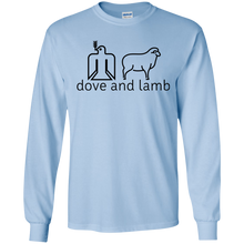 dove and lamb Gildan LS T-Shirt