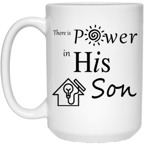 power SON 15 oz. White Mug