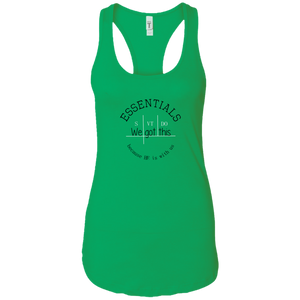 We got this essentials Ladies Racerback Tank