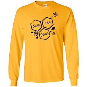save bees Gildan LS T-Shirt