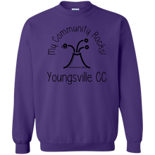 community rocks Gildan Crewneck