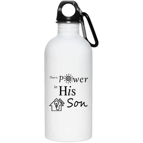 power SON 20 oz. Stainless Steel Water Bottle