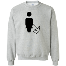WALK CHICKEN Gildan Crewneck