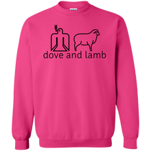 dove and lamb Gildan Crewneck