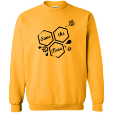 save bees Gildan Crewneck