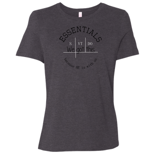 We got this essentials Bella + Canvas Ladies' Relaxed Jersey T-Shirt