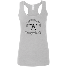 community rocks Ladies Softstyle Racerback Tank