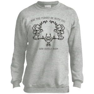 forestbewithyou P+C Youth Crewneck