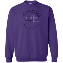 We got this essentials Gildan Crewneck