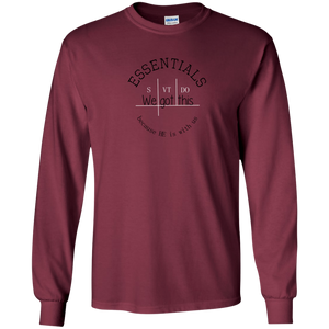 We got this essentials Gildan Youth LS T-Shirt