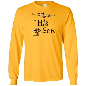 power SON Gildan LS T-Shirt