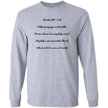 Psalm121.12 G240 Gildan LS Ultra Cotton T-Shirt