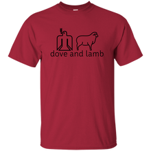 dove and lamb Gildan T-Shirt