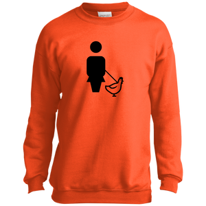 WALK CHICKEN P+C Youth Crewneck