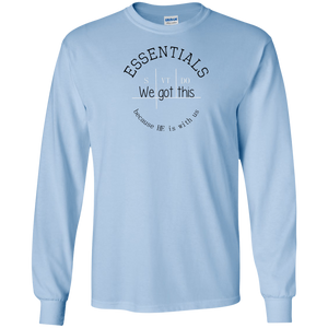 We got this essentials Gildan LS T-Shirt
