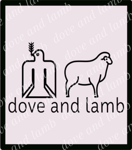 dove and lamb Gildan Youth LS T-Shirt