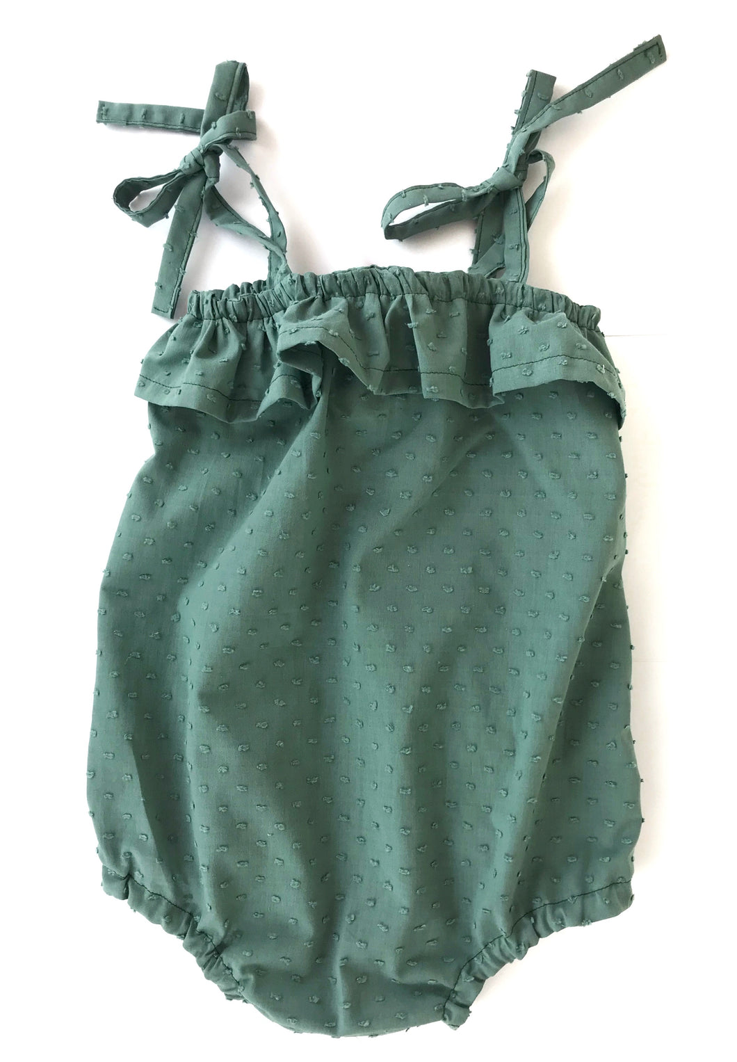 Dusty Mint Florence Romper