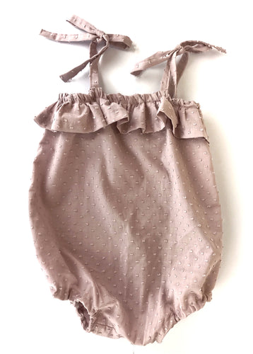 Dusty Rose Florence Romper
