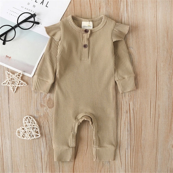 Pudcoco USPS Fast Shipping 0-24M Newborn Baby Girl Boy Winter Clothes Knitted Romper Jumpsuit Infant Outfits UK