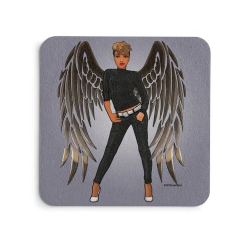 Black Angel Coaster