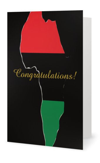 Congratulations! Blank Note Card