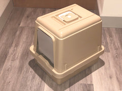 Standard Sieve Litter Tray System with Hood ( new stock end October)