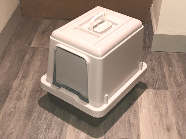 Sieve Litter Tray System with Hood