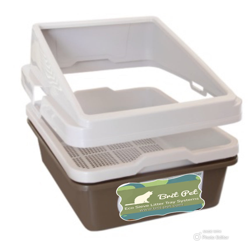 Standard System with Guard 2 Piece Sieve Tray Set + Tray Guard