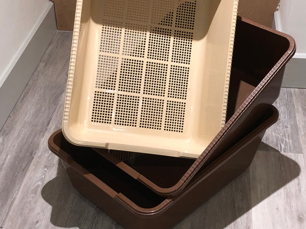 Maxi Sieve Litter Tray System (2 Base Trays,Sieve & Guard) Out of Stock