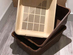Maxi Sieve Litter Tray System (2 Base Trays,Sieve & Guard)