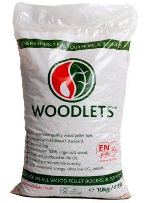 10 kilo Bag of Premium Wood Pellet Litter
