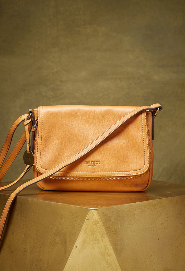Preston Crossbody in Cognac