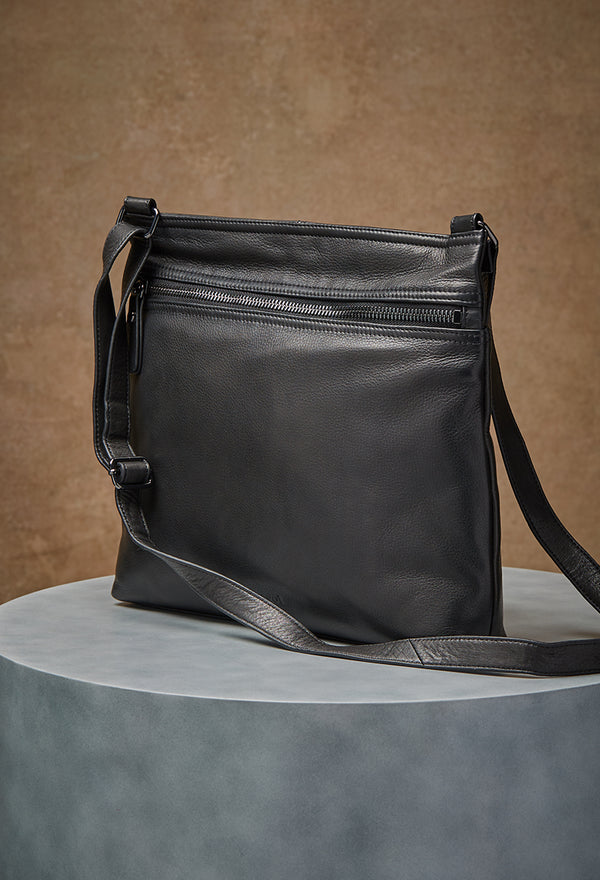 Lorna Hobo in Black and Gunmetal