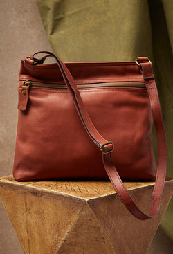 lorna hobo in brown front image