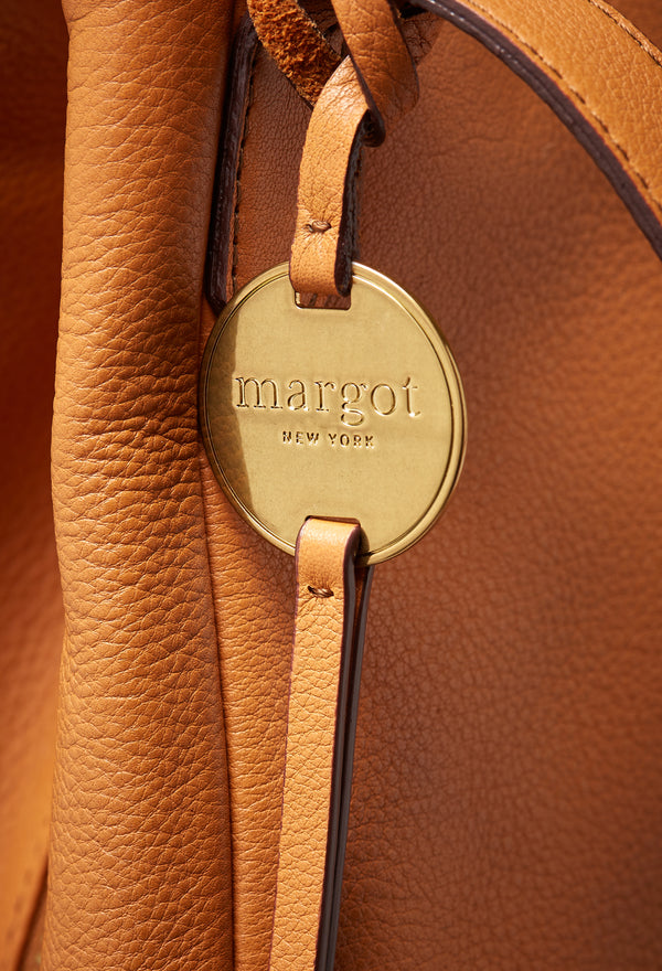 Marcy Tote in Cognac