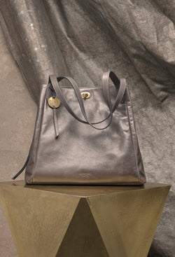 Marcy Tote in Grey