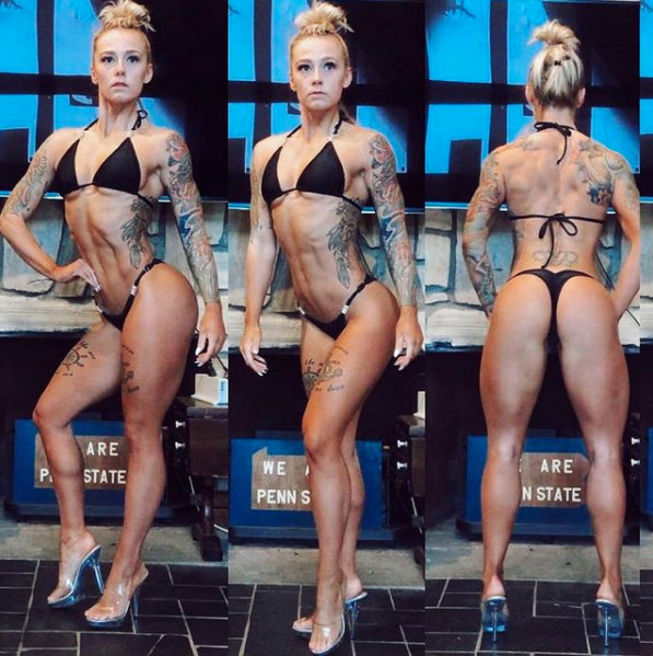 Matte Posing Suit, choice of color | Scrunch Butt Bikini | NPC/IFBB Practice Suit