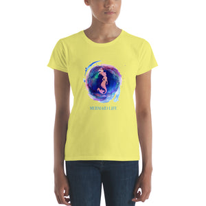 Mermaid Life Basic Tee