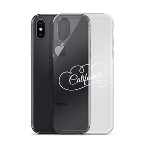 California iPhone X Phone Case