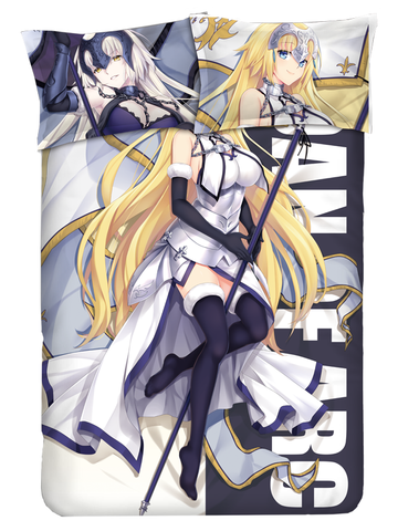 Fate/grand Order Joan Of Arc Anime Bed Sheets