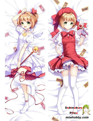 Image of Cardcaptor Sakura Kinomoto Anime Dakimakura Pillow Cover