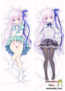 New Anime Angels 3Piece! Nude Jun Gotou Dakimakura Hugging Body Pillow Case Cover