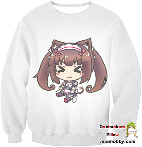 Image of Nekopara So Cute Chocolat Sweatshirt / Xxs