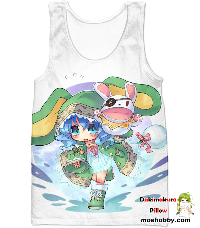Date A Live Cute Yoshino Tank Top / Xxs